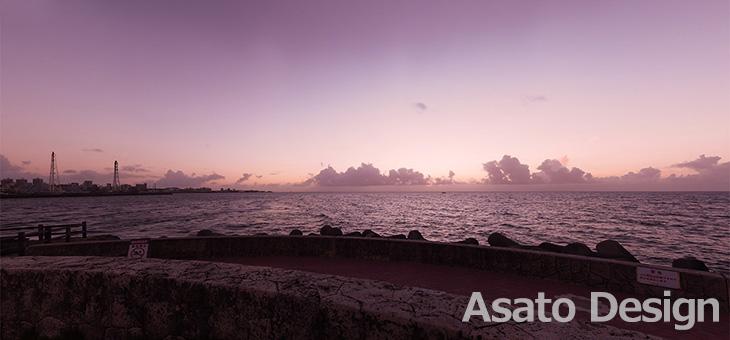 宜野湾市・トロピカルビーチの360度パノラマ写真