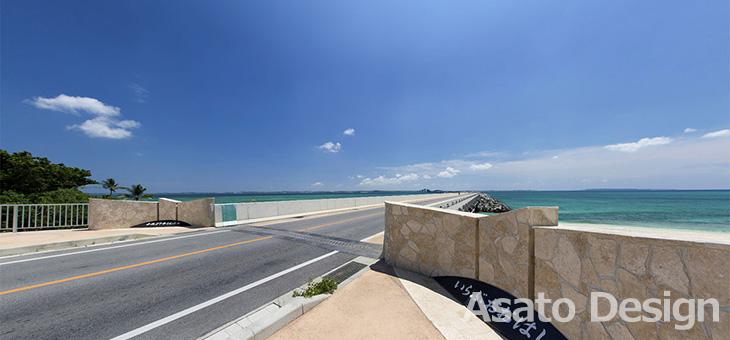 伊良部島・伊良部大橋の360度パノラマ写真